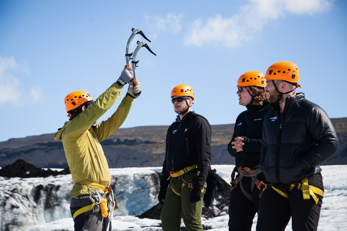 Private Ice Climbing On Sólheimajökull