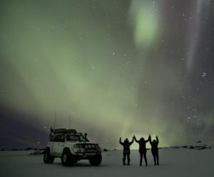 Northern Lights On Eyjafjallajökull By Super Jeep Packages